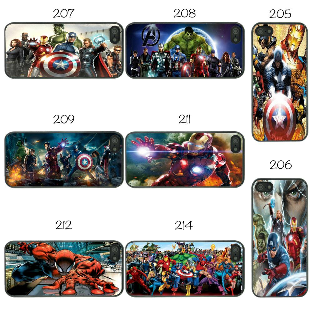 MARVEL SUPERHERO CASE COVER FOR APPLE IPHONE IPOD AND IPAD