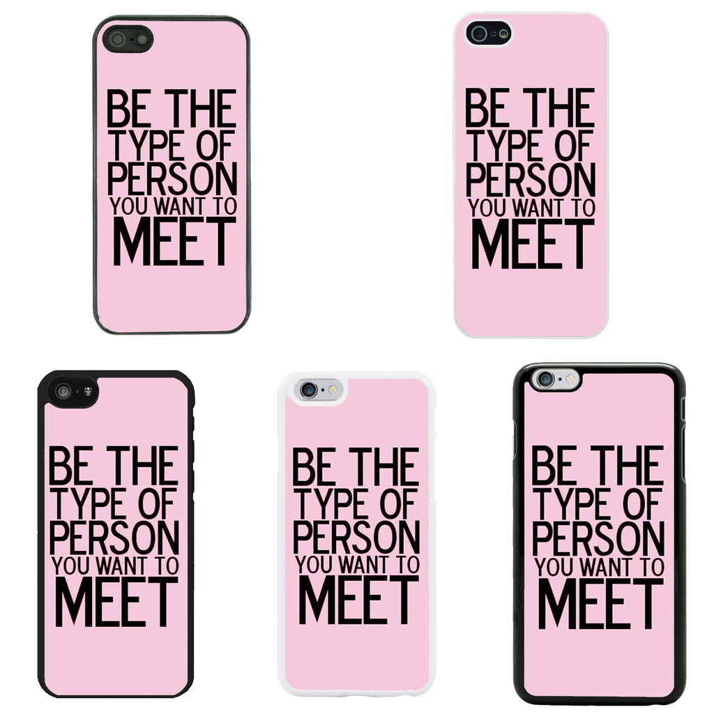 Details about Sayings Quotes Case Cover for Apple iPhone 4 4s 5 5s 6 6 ...