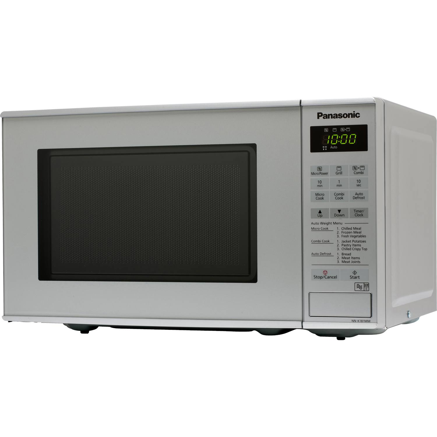 Small High Power Microwave Oven: Panasonic NNK181MMBPQ Compact 800W 20L Microwave Oven With