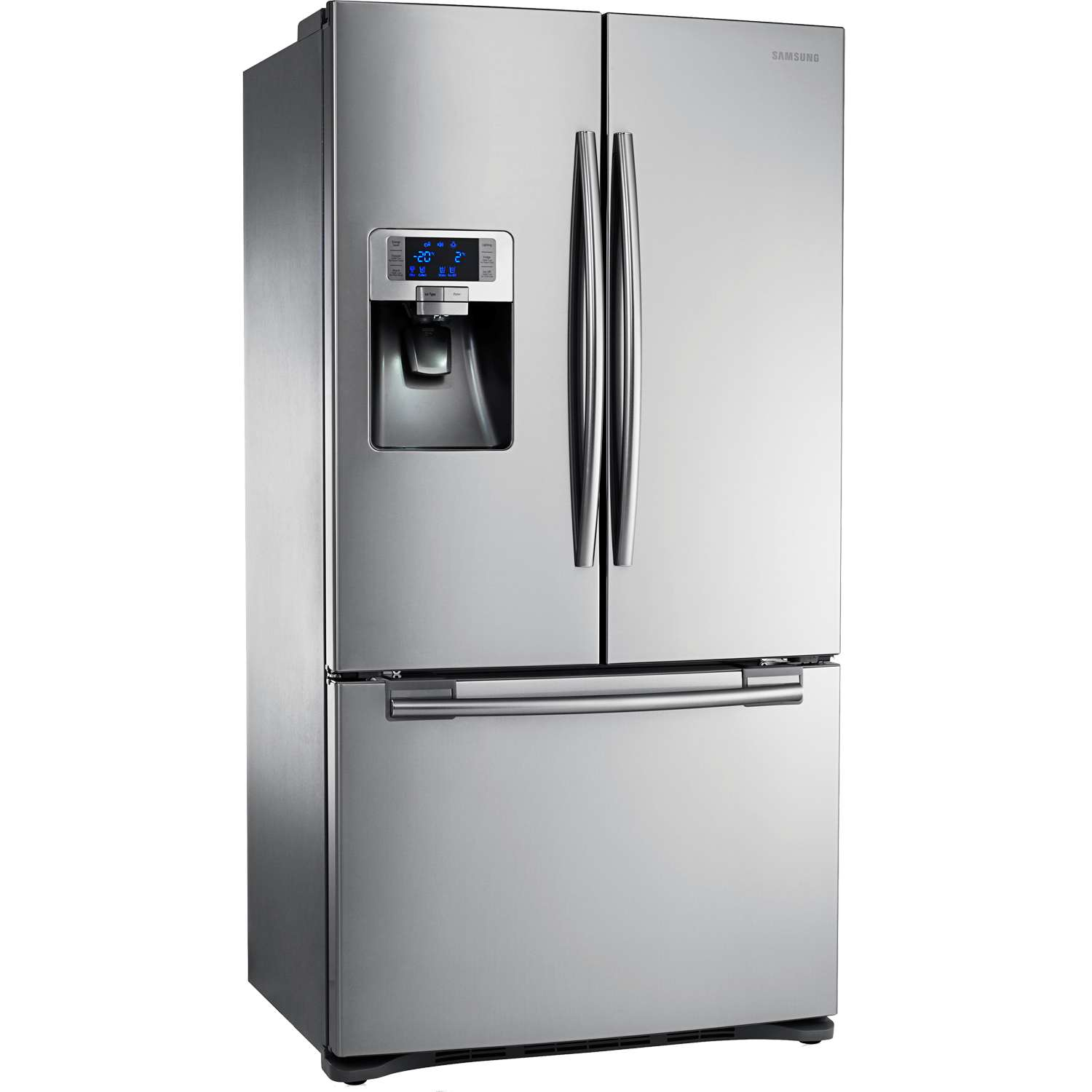 samsung rfg23uers 1 xeu g series freestanding a american 3 door fridge freezer ebay. Black Bedroom Furniture Sets. Home Design Ideas