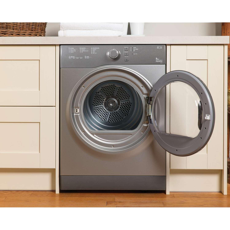 Non Vented Dryer ~ Hotpoint tvfs cg kg temps aquarius sensor vented