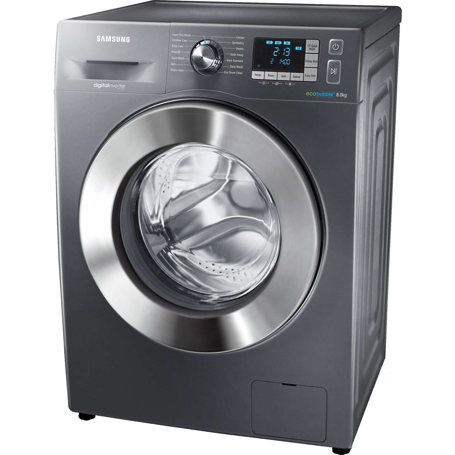 samsung wf80f5e5u4x a 8kg 1400 spin washing machine in. Black Bedroom Furniture Sets. Home Design Ideas