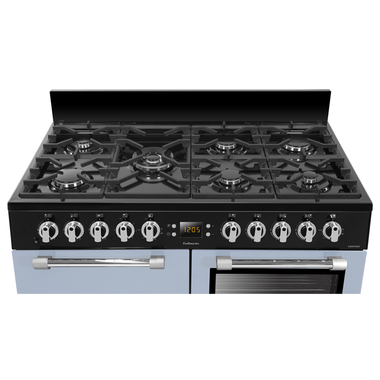 Leisure ck100f232b ab 100cm dual fuel double oven range for Wireless perfect bake pro