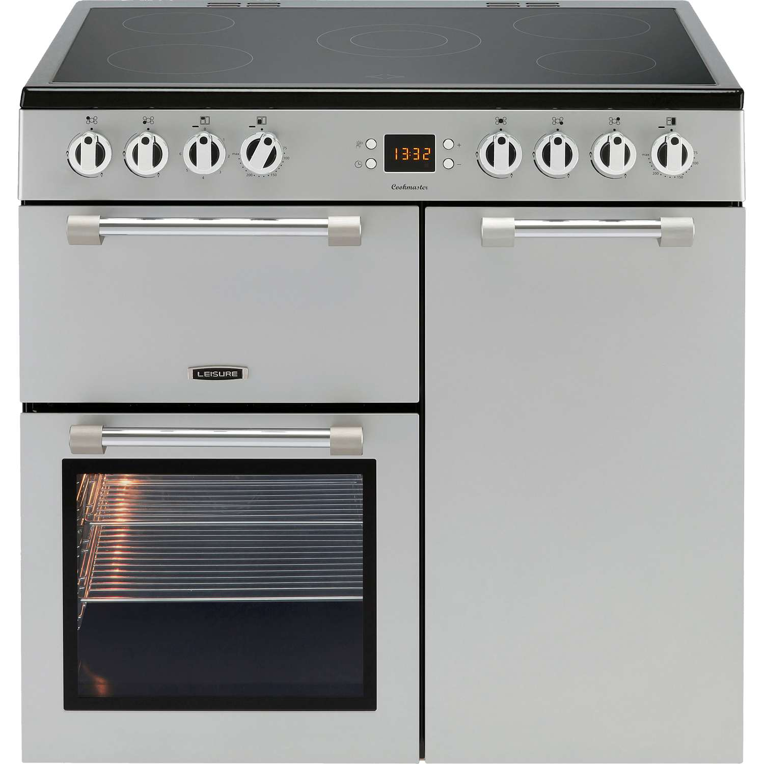 Leisure Ck90c230s A 90cm Cookmaster Electric Range Cooker