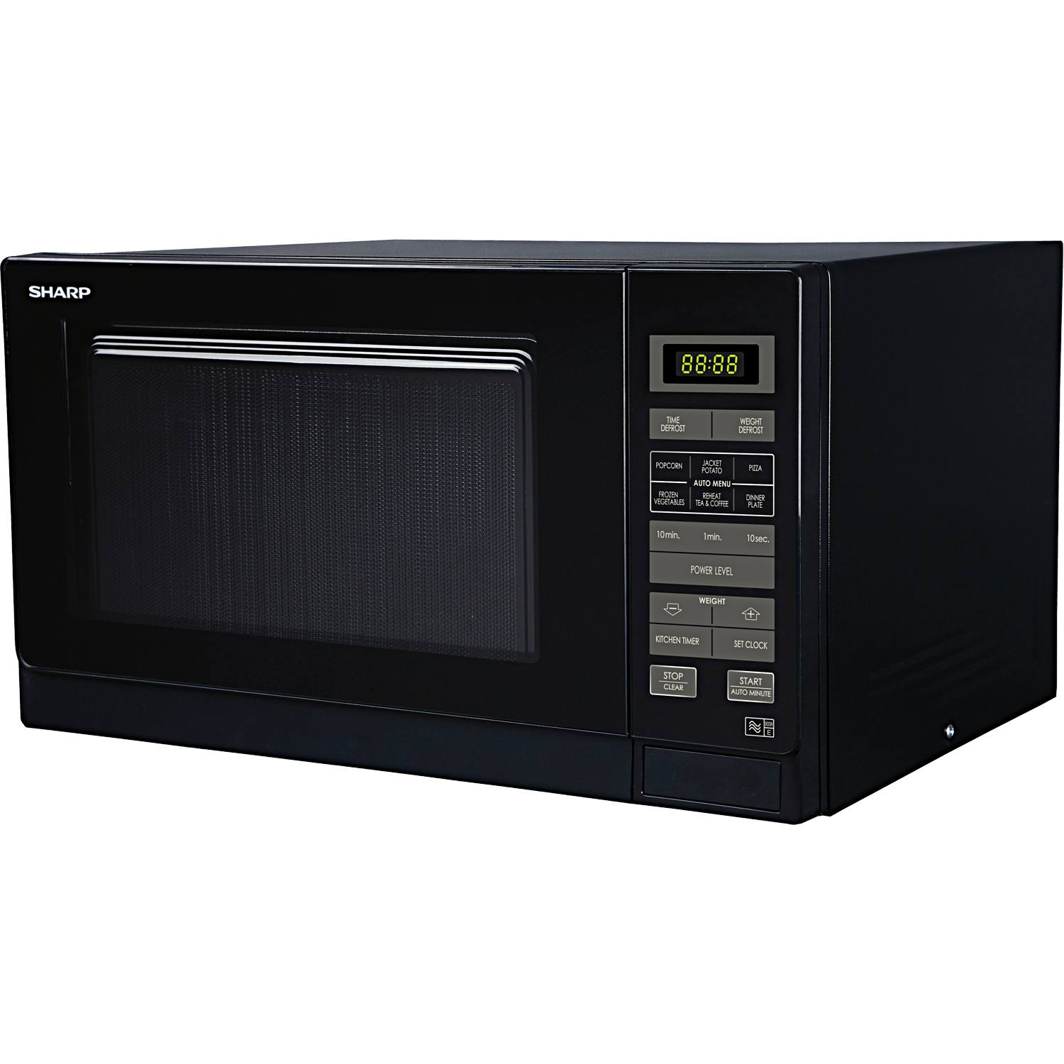 Sharp R372KM 25L 900W 11 Programmes Family Touch Control Microwave in ...