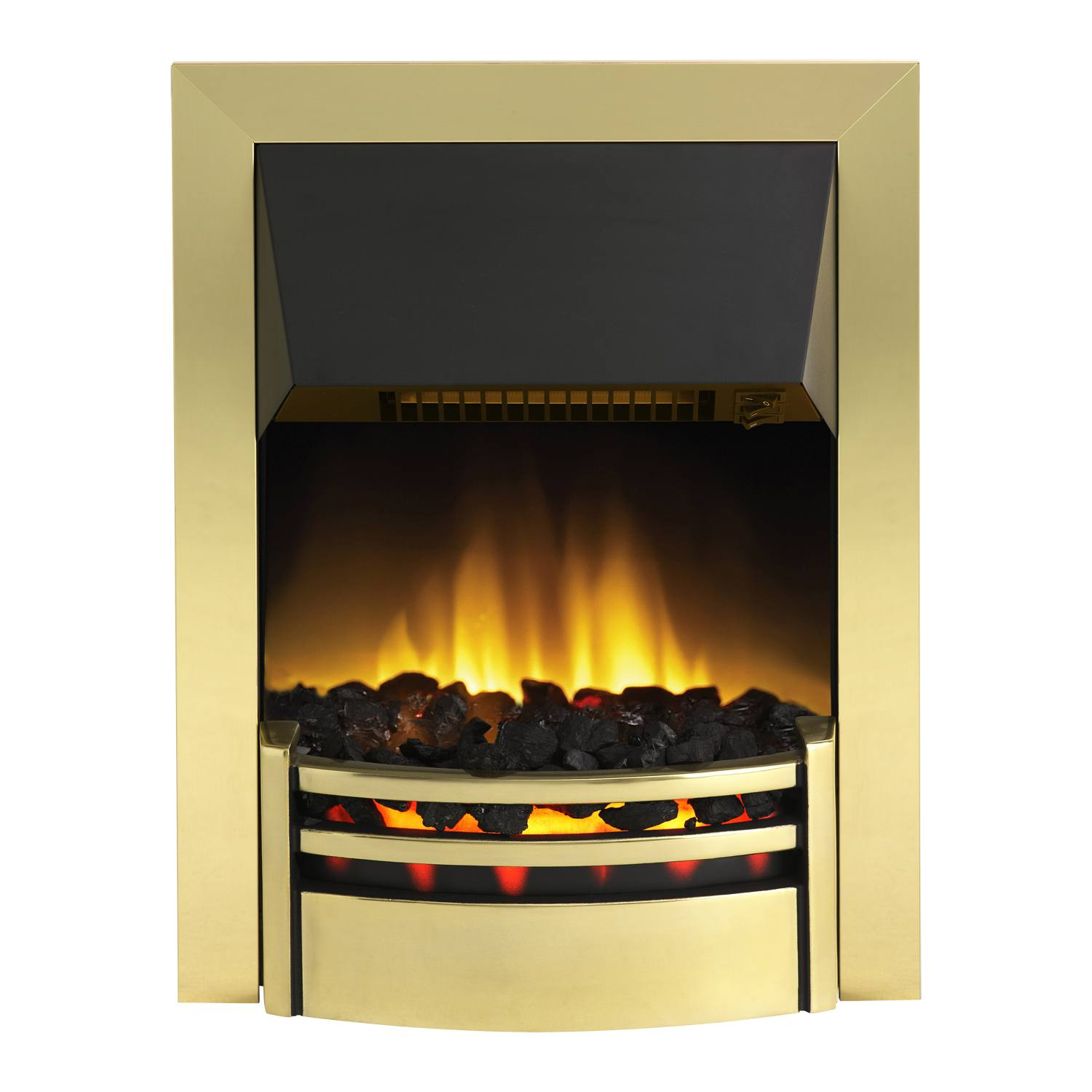dimplex kns20 2000w kansas electric flame effect fire in. Black Bedroom Furniture Sets. Home Design Ideas
