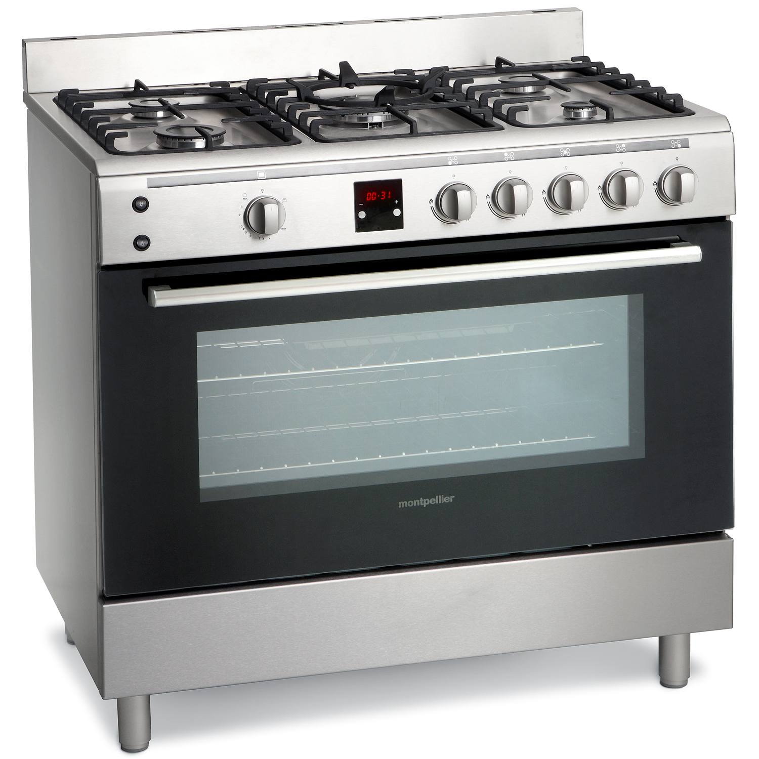 montpellier mr90gox 90cm single cavity gas range cooker in. Black Bedroom Furniture Sets. Home Design Ideas
