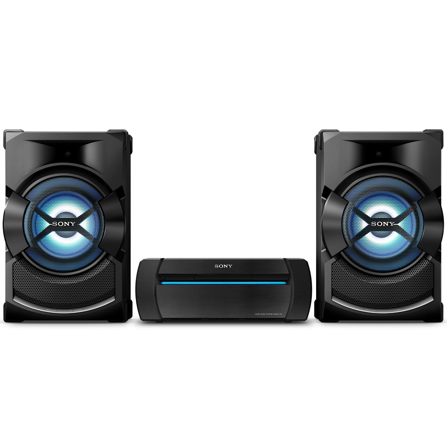 sony shake x1d 1200w home audio system with bluetooth nfc. Black Bedroom Furniture Sets. Home Design Ideas