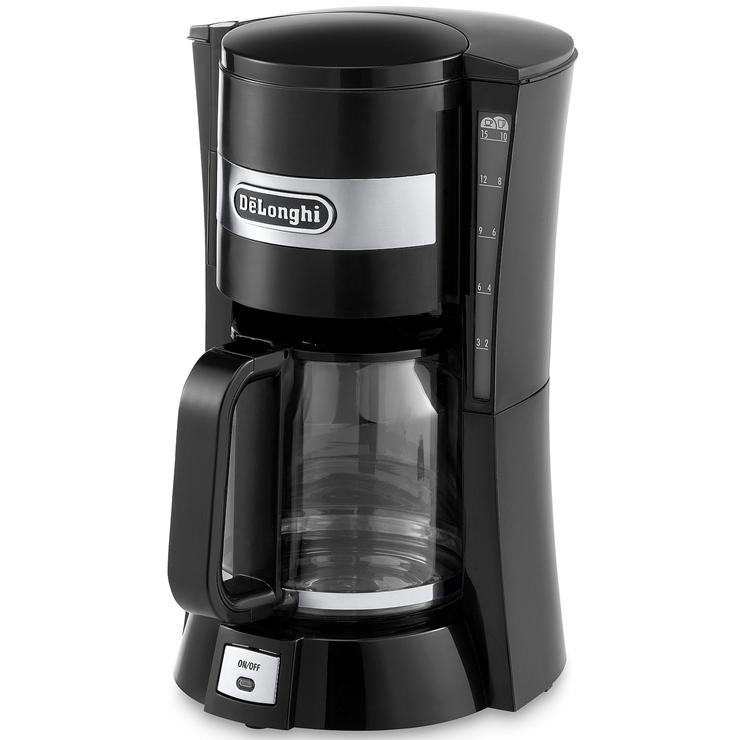 Coffee Maker Watt Kecil : Delonghi ICM15210.1 900 Watts 1.2 Litres Filter Coffee Machine Maker in Black eBay