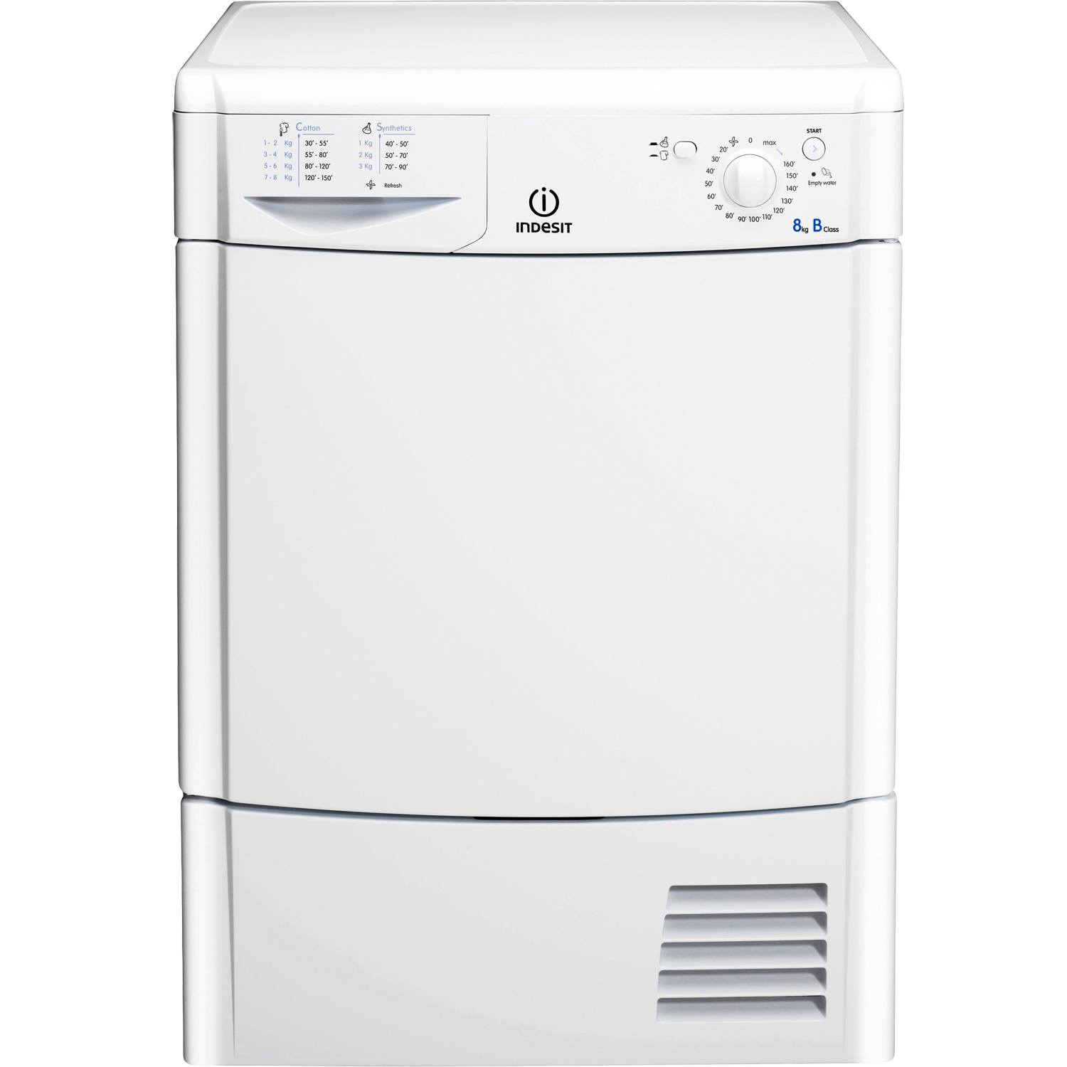 Drying Clothes With Tumble Dryer ~ Indesit idc t b kg temps condenser tumble dryer with