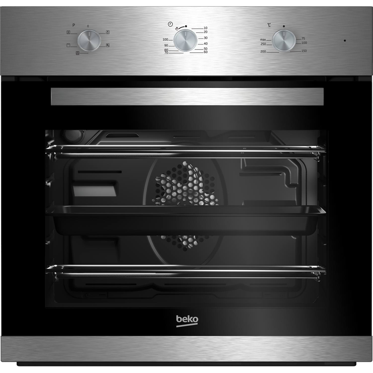 beko bif22100x a rated built in electric grill single oven. Black Bedroom Furniture Sets. Home Design Ideas
