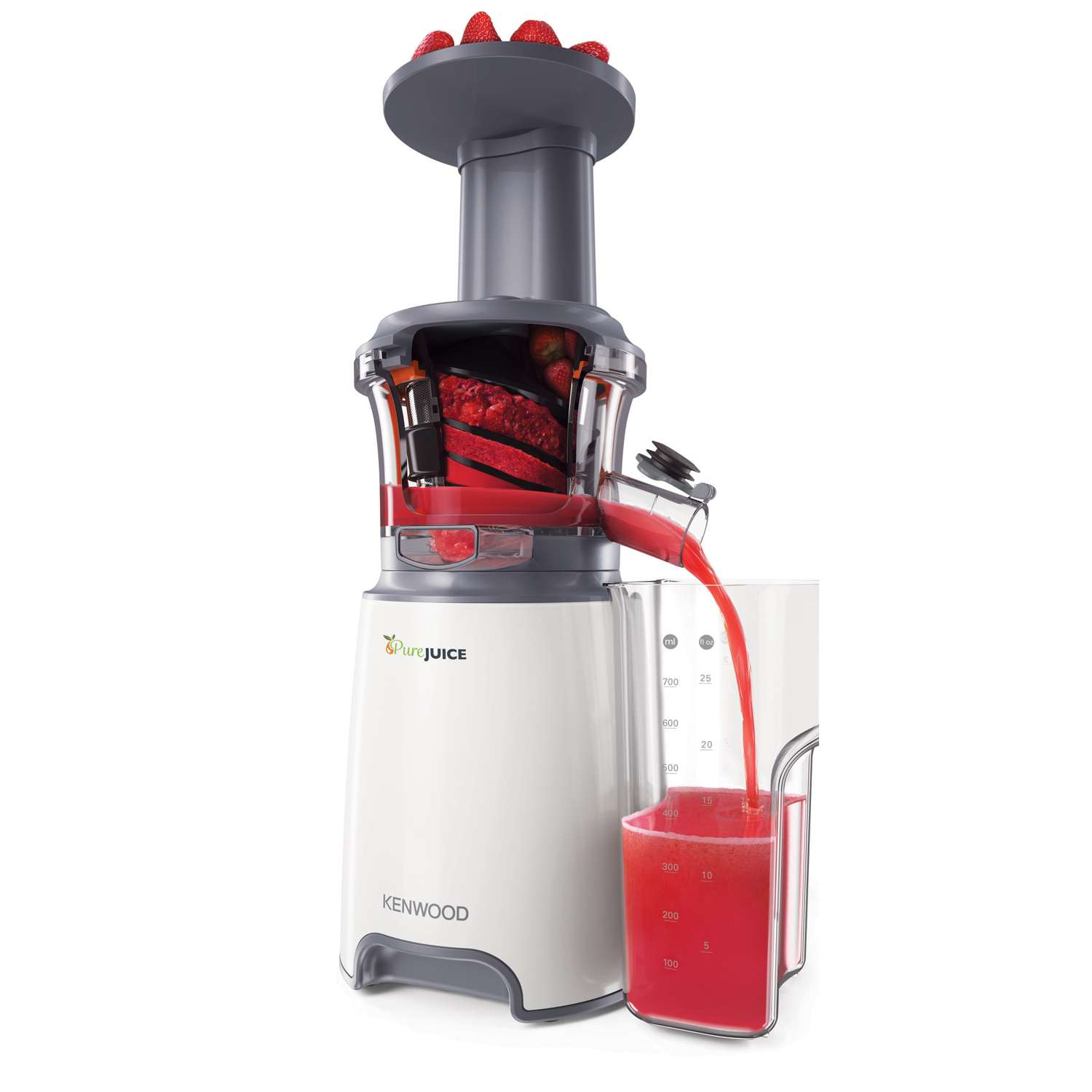 Pigeon Pure Slow Juicer Review : Kenwood JMP601WH 1 Litre Pure Juice Slow Press Juicer in White eBay