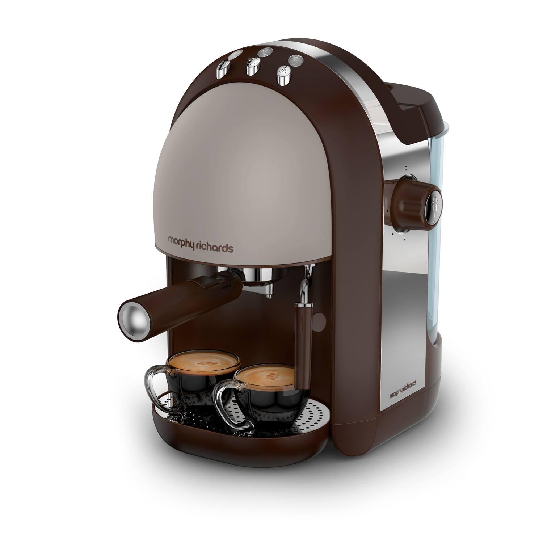 Morphy Richards 172005 Accents 1000W 15 Bar Espresso Coffee Machine in Pebble eBay