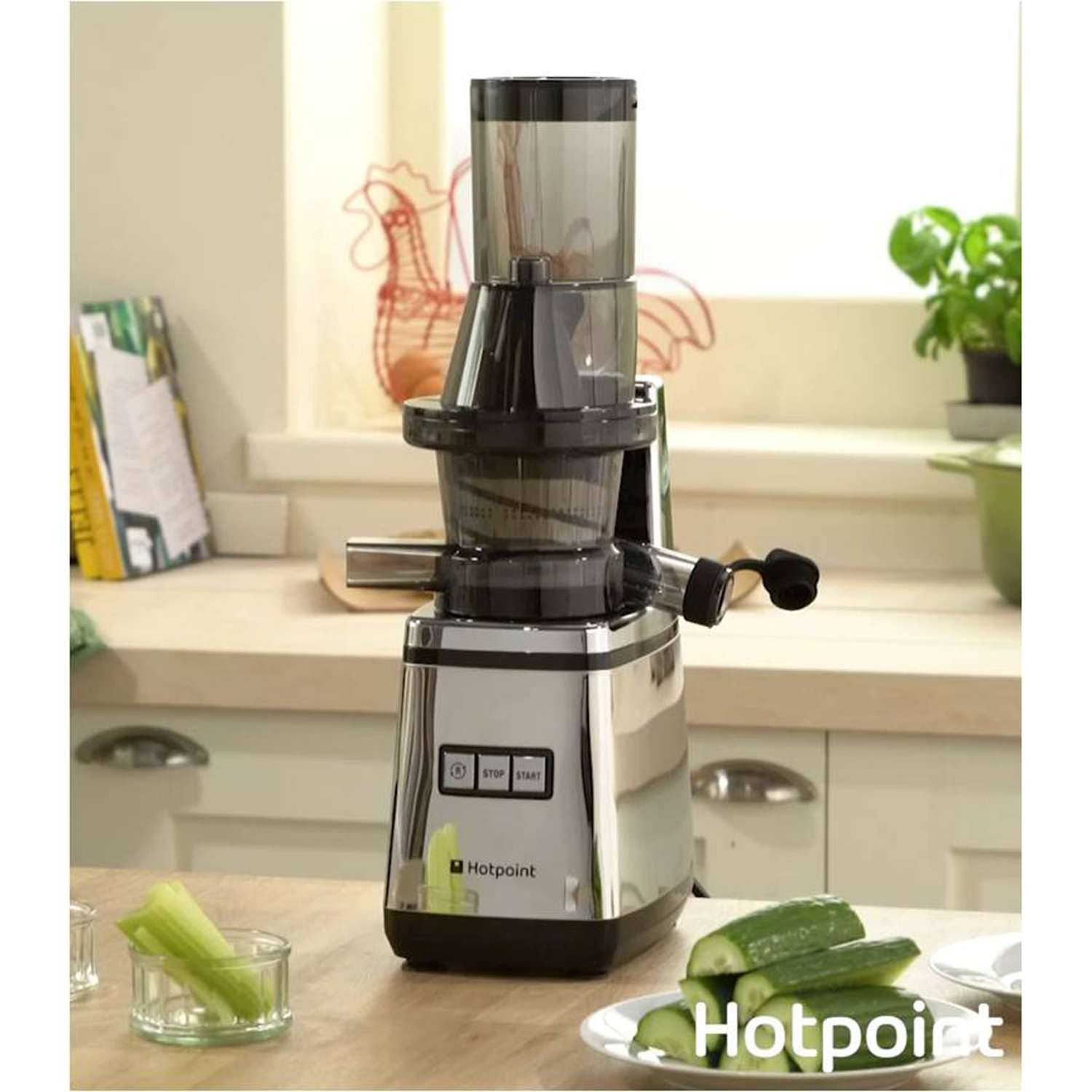 Hotpoint SJ15XLUP0UK Slow Juicer in Silver eBay