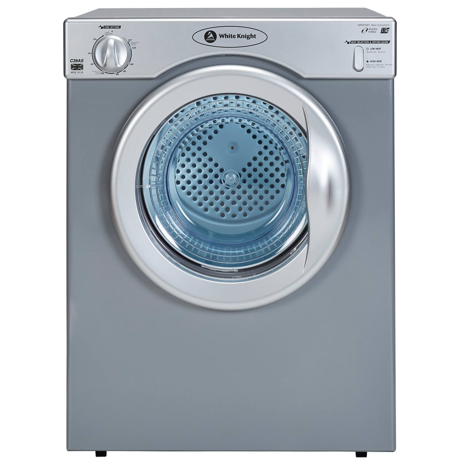 Non Vented Dryer ~ White knight c as kg compact temps vented tumble