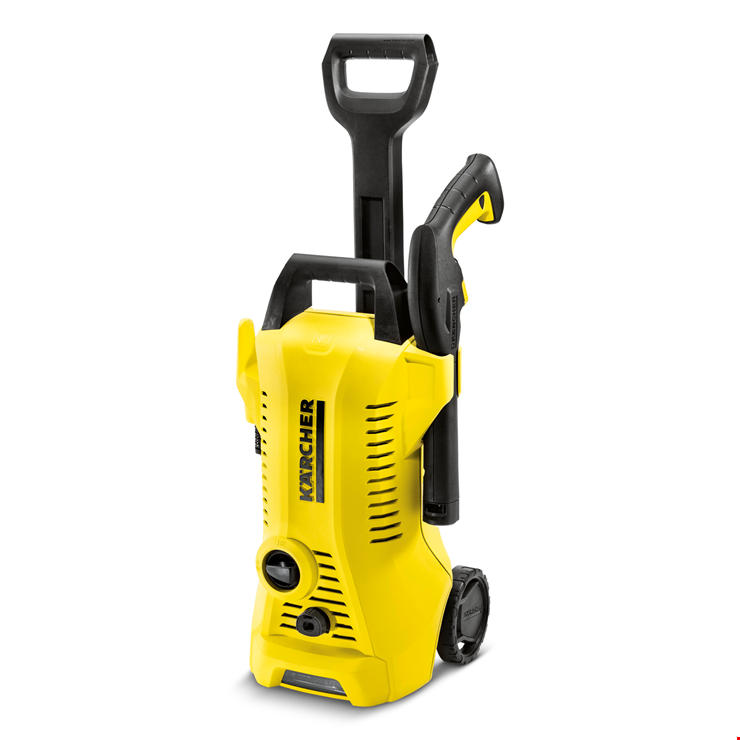 karcher k2 1400w 6m hose full premium control pressure washer in yellow ebay. Black Bedroom Furniture Sets. Home Design Ideas
