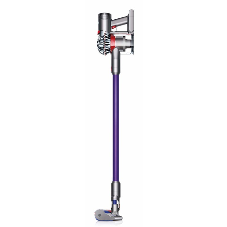 dyson v7 animal cordless rechargeable vacuum cleaner in purple new ebay. Black Bedroom Furniture Sets. Home Design Ideas