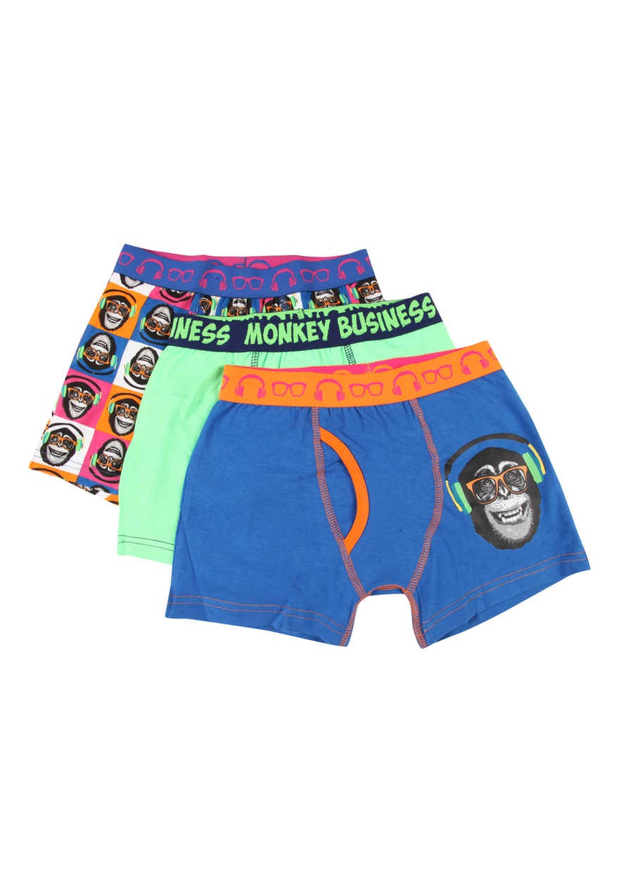 Peacocks-Kids-Boys-3-Pack-Keyhole-Boxer-Shorts-Trunks-Briefs-Underwear-Brand-New