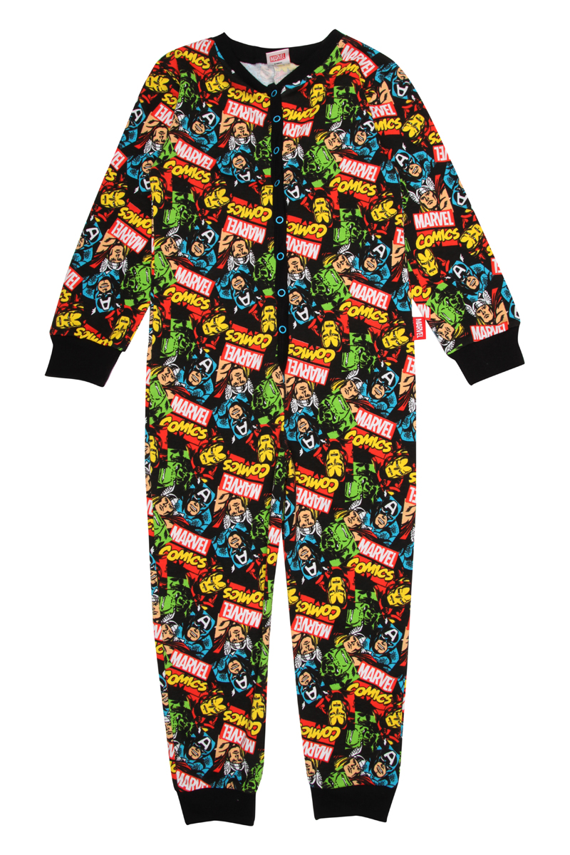 Peacocks Older Boys Marvel Onesies Onsie Kigurumi Pyjamas Pajamas ...