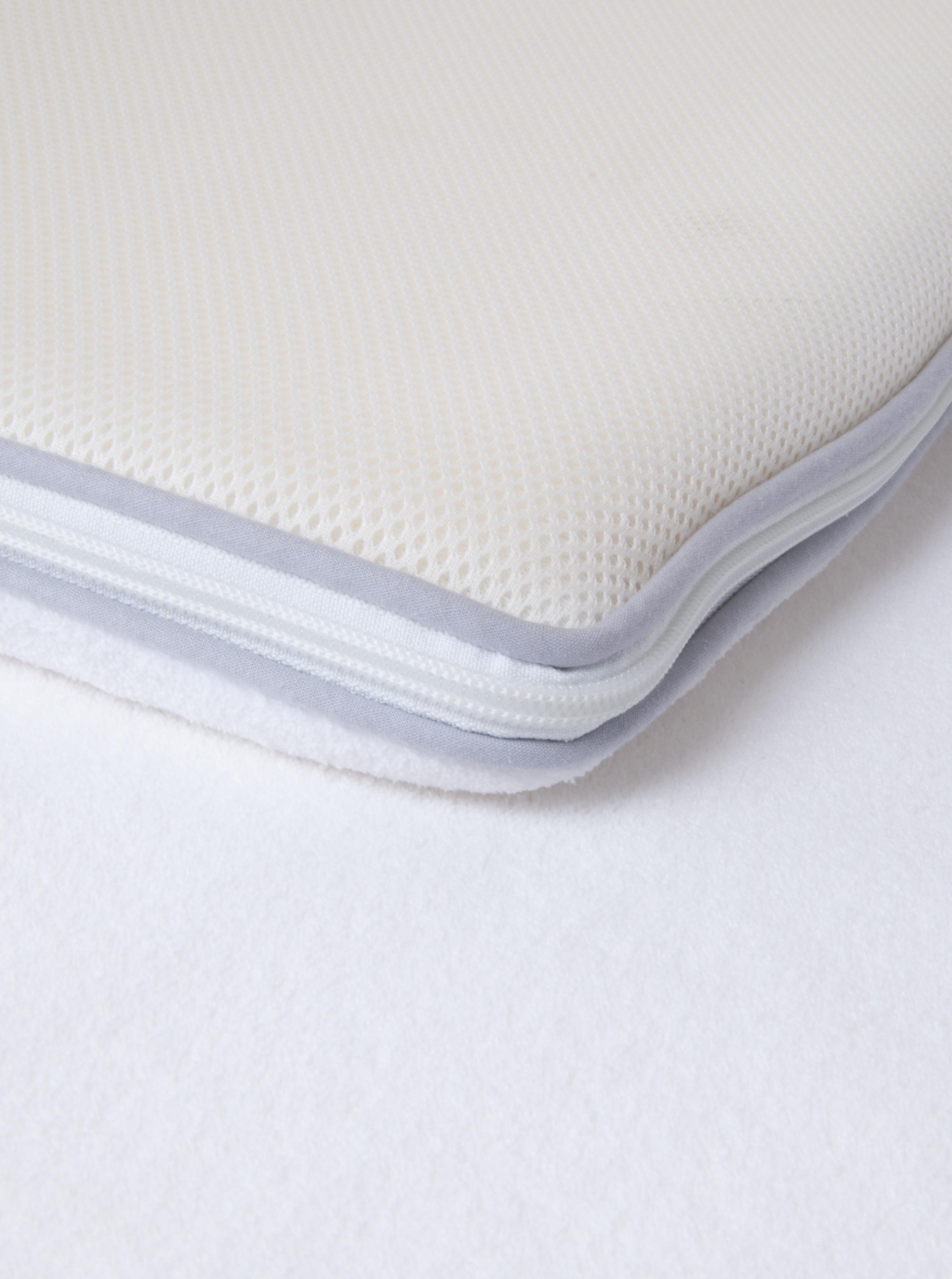 Single All Seasons Air Relax And Polar Fleece Memory Foam Mattress Topper Cover Ebay