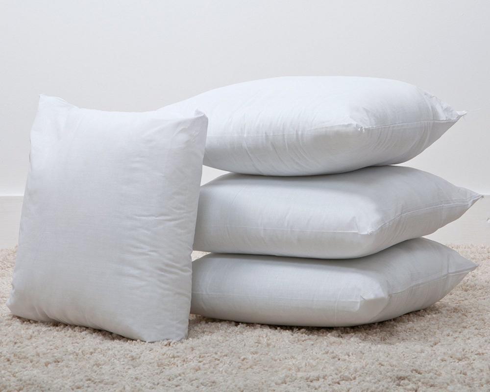 24 x 24 luxury bounce back fibre cushion pads cushions. Black Bedroom Furniture Sets. Home Design Ideas