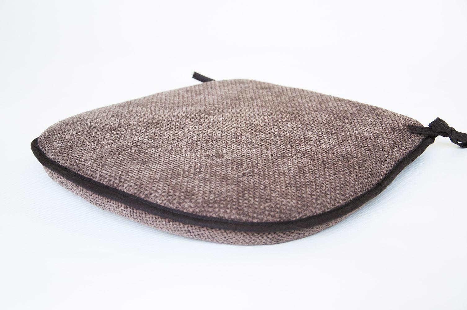 16quot Seat Pad with Ties Lancashire Textiles : chocolatebasketweave from www.lancashiretextiles.co.uk size 1506 x 1000 jpeg 227kB