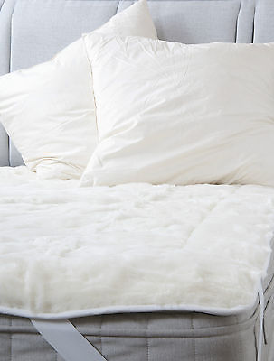 Duck Feather 65cm x 65cm square Euro Continental Cotton Cambric Pillow