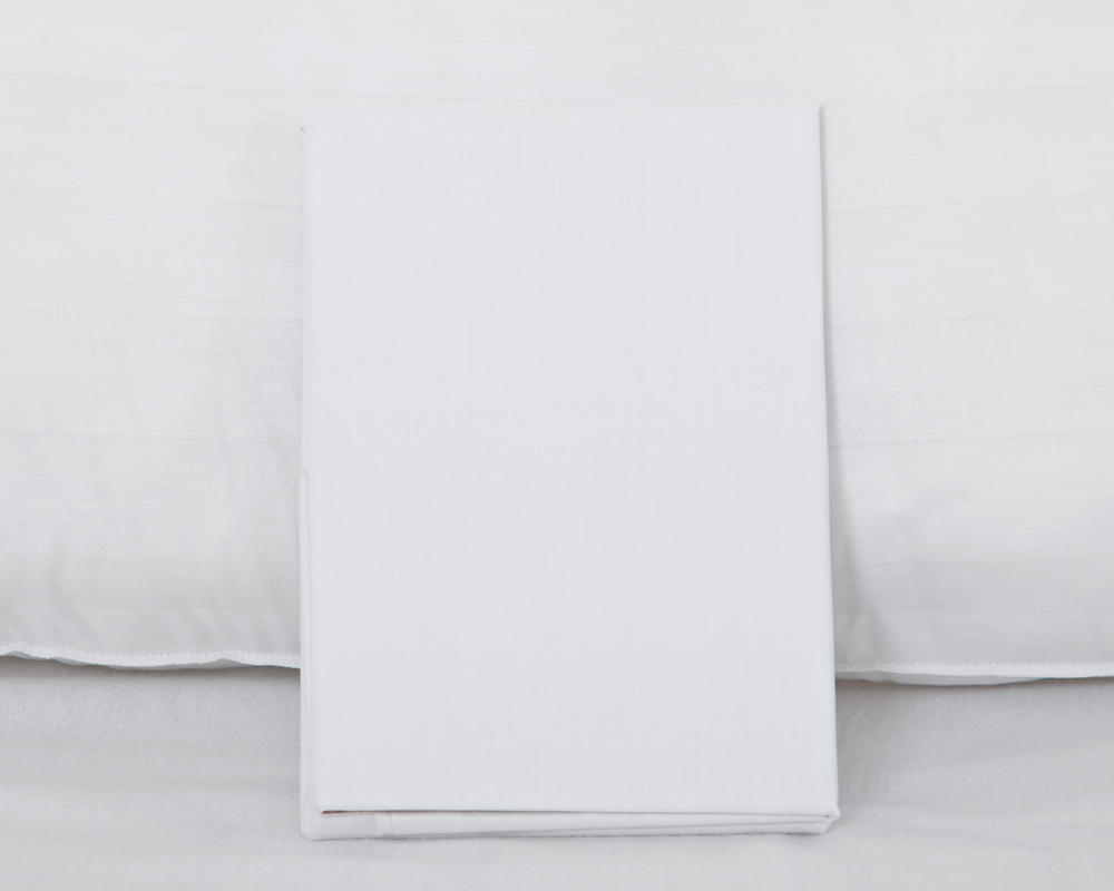 Bolster Pillowcase In White Bedding Direct Uk