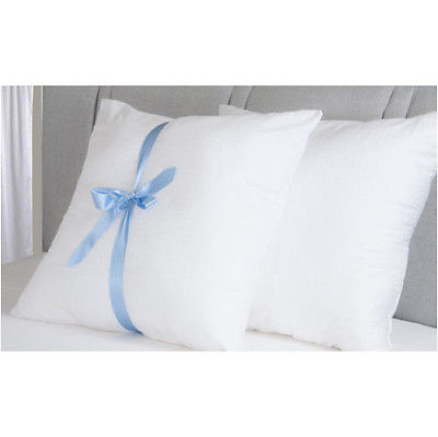 65cm x 65cm Square Euro Continental Bounce Back Cotton Satin Stripe Pillow
