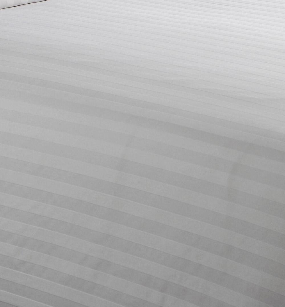 SUPREME en coton 200 fils au pouce Hotel de Haute Qualité Satin Rayure Couette ensembles