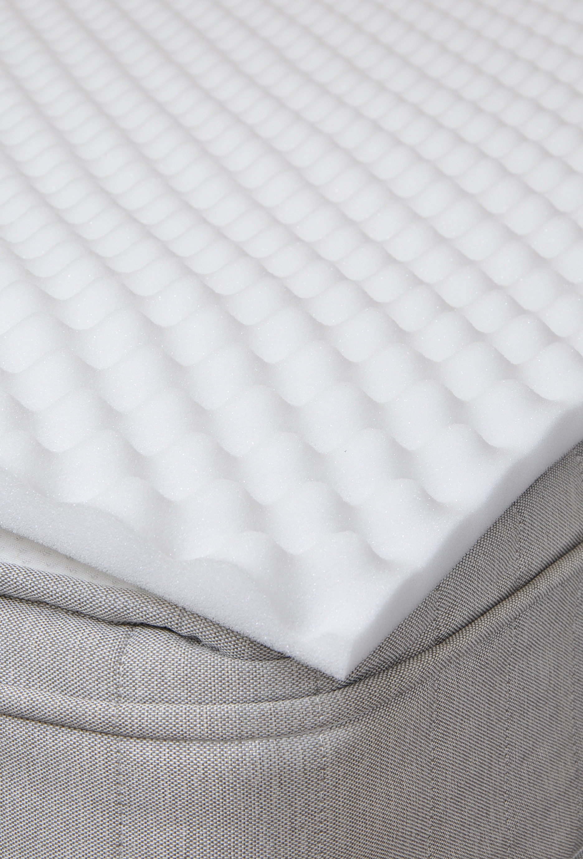 Single Bed Support Egg Box Foam Mattress Topper Ebay