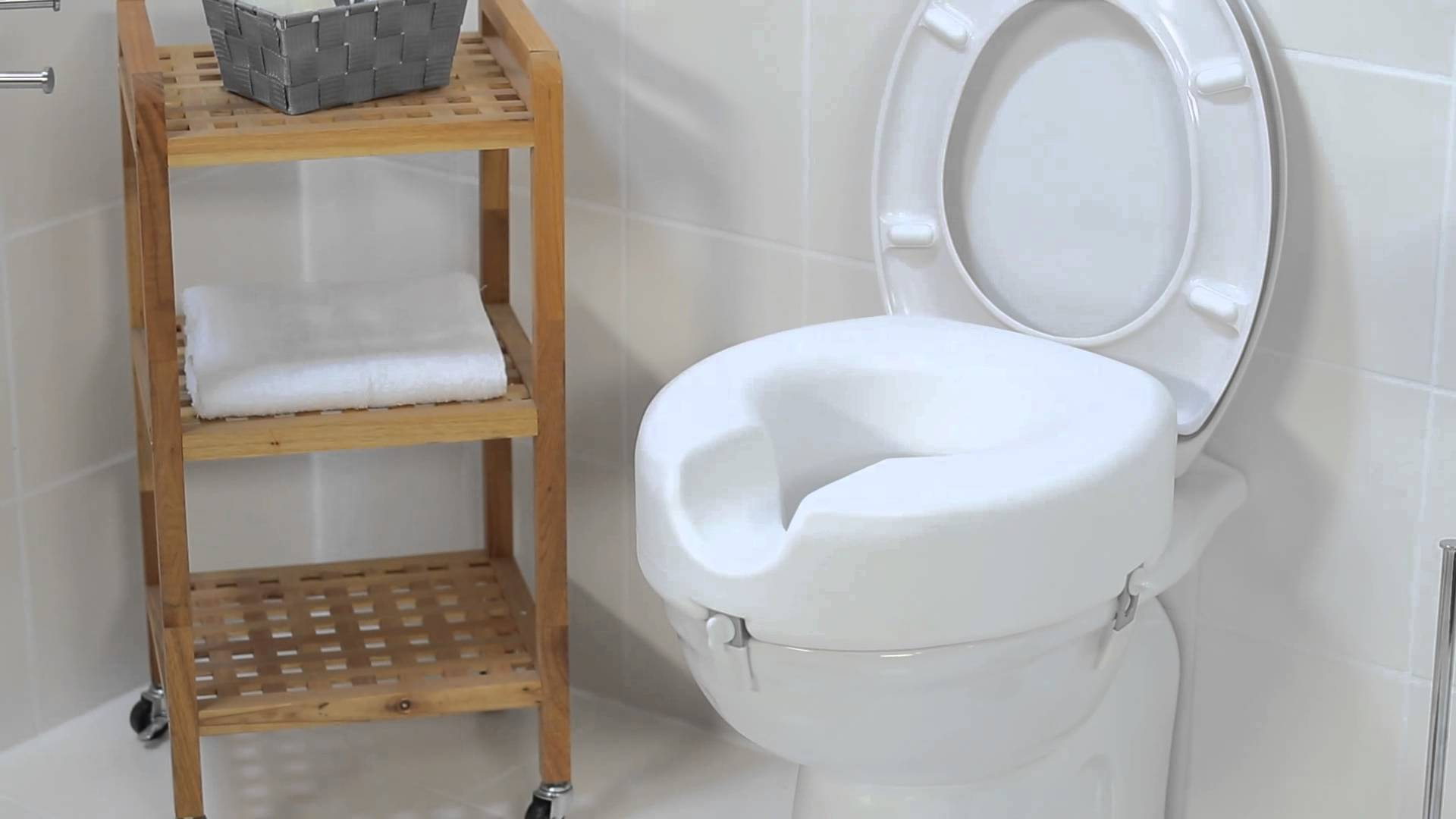 Raised Toilet Seat 5 Elevated Toileting Mobility