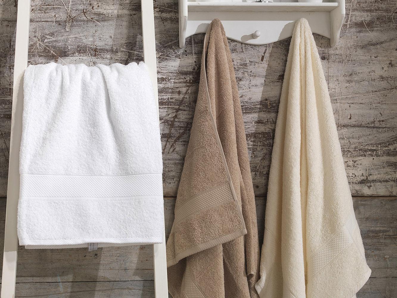 Supreme 500gsm en coton égyptien solide imperial serviettes