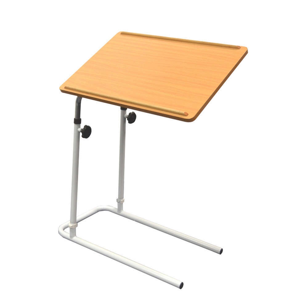 Days overbed table without castors tilting top multi for Table bed chair