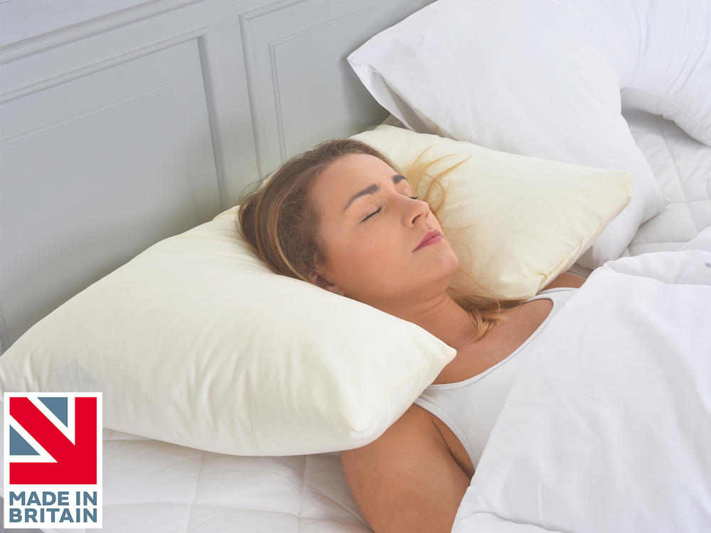 Inset Neck and Head Support Spinal Allignment Side Sleeper ...