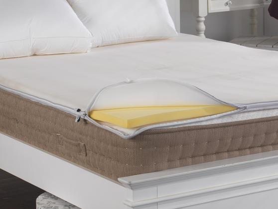 Air Relax Polar Fleece Mattress Topper Cover