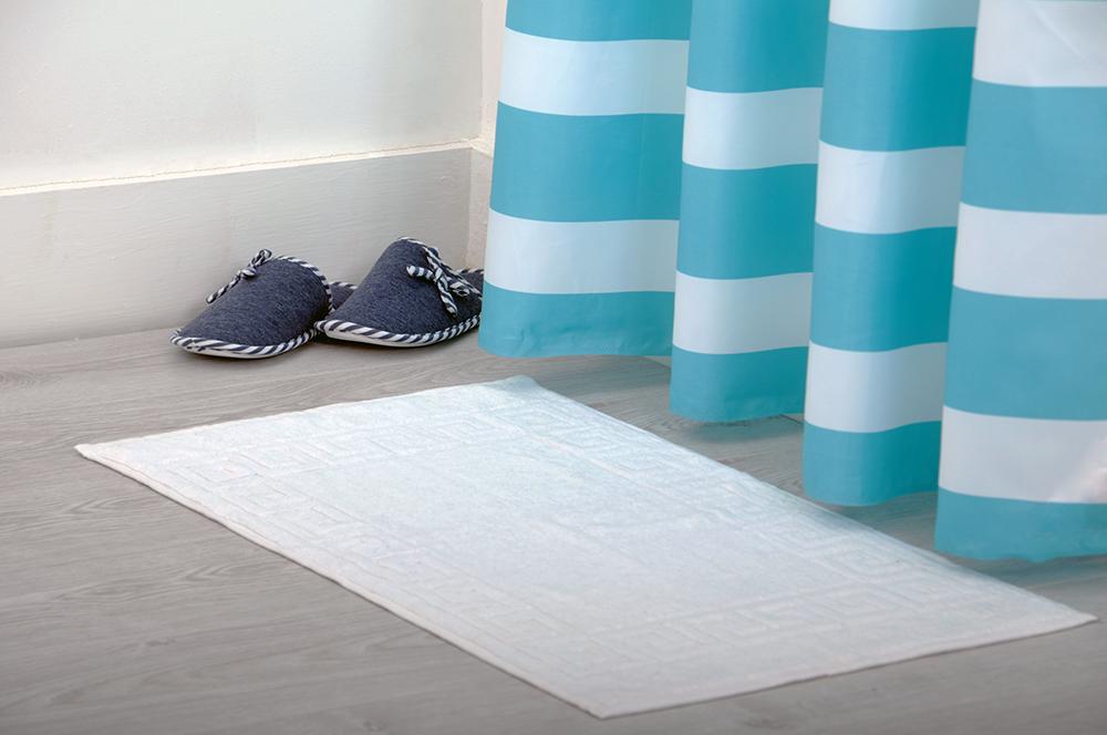 absorbent 100 cotton terry towelling bathroom shower bath mat rug washable ebay. Black Bedroom Furniture Sets. Home Design Ideas