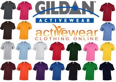 Gildan 5000 T Shirts Blank Bulk Lot Colors Or White S Xl Le