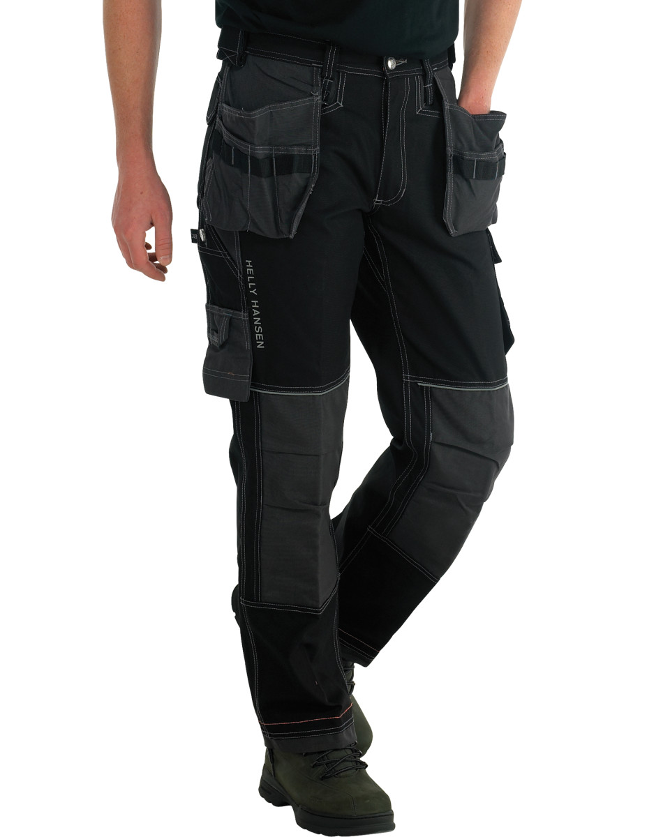helly hansen chelsea construction pant work trousers 76441r ebay. Black Bedroom Furniture Sets. Home Design Ideas
