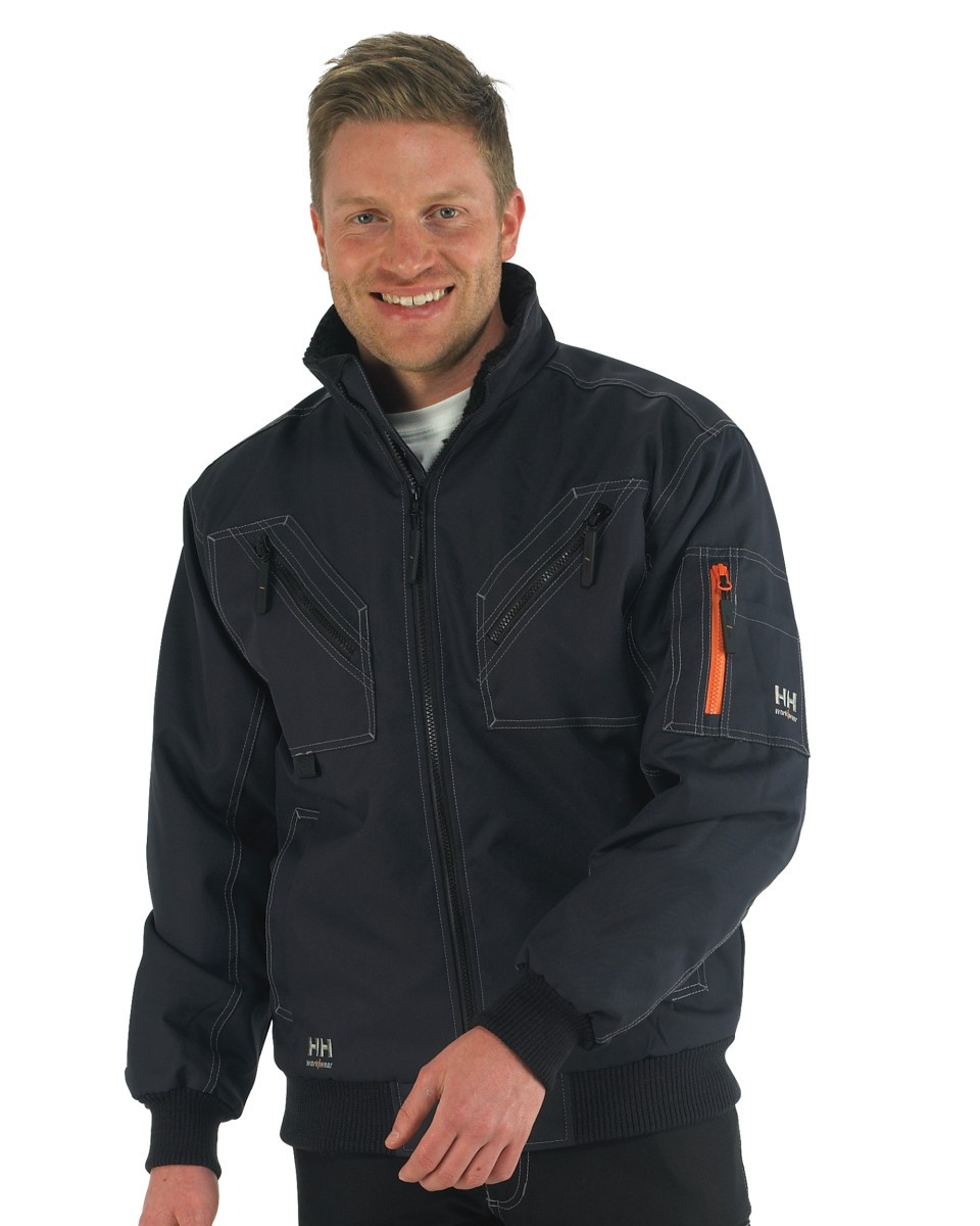 helly hansen mens bergholm waterproof workwear jacket coat 76211. Black Bedroom Furniture Sets. Home Design Ideas