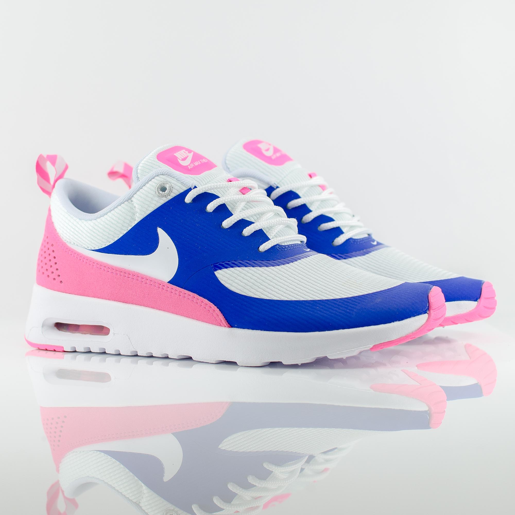 nike wmns air max thea deep royal blue hyper pink,nike air