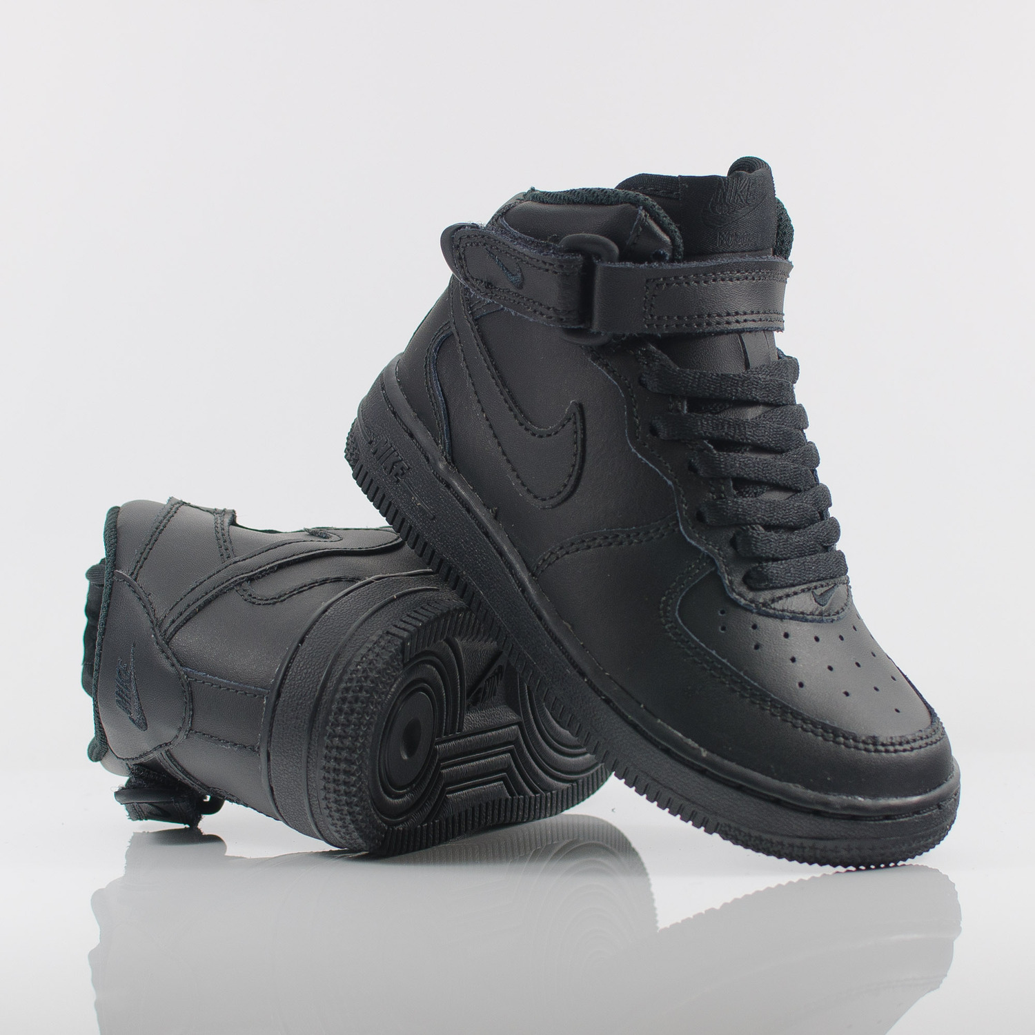 black air force ones high tops