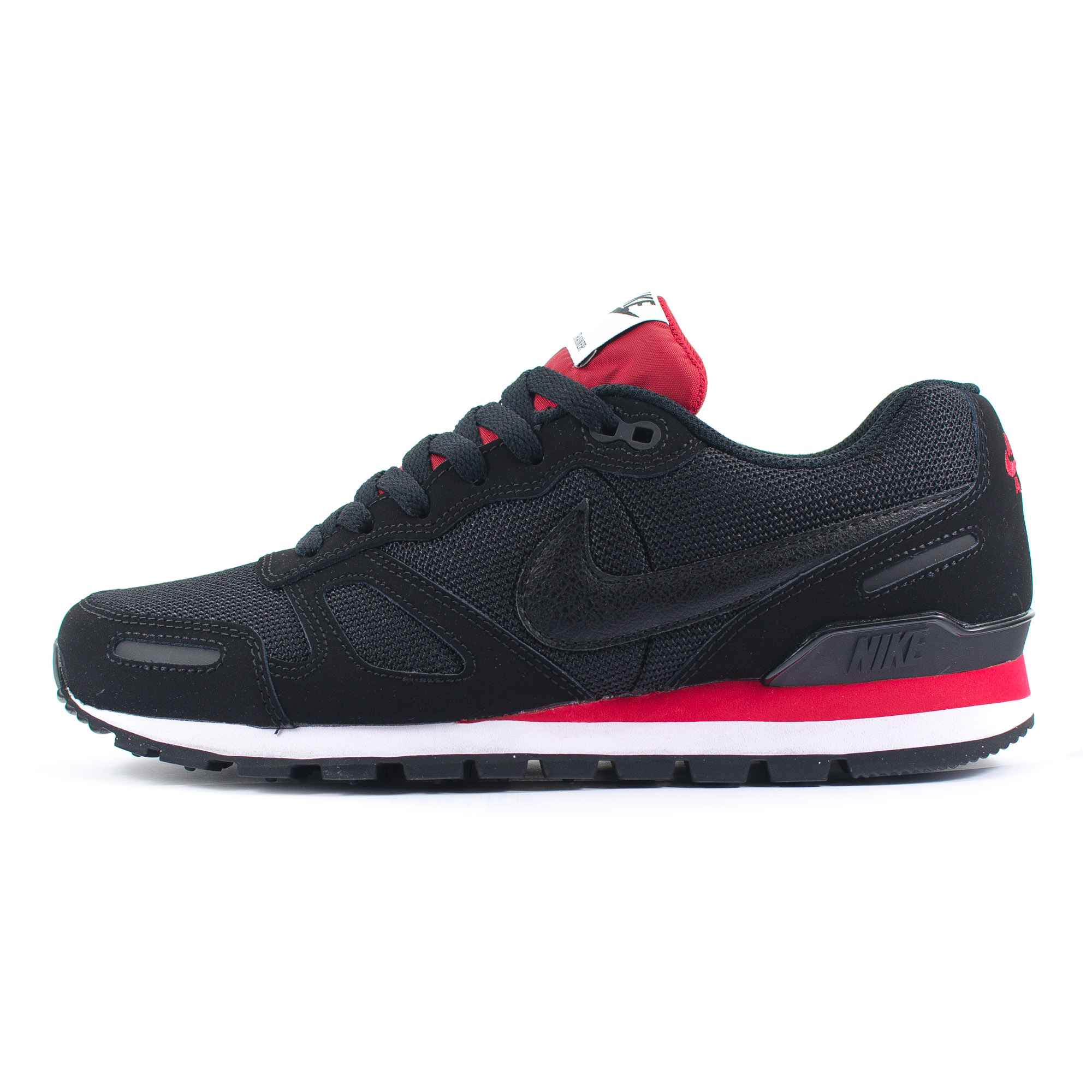 mens nike air waffle trainer black red white running trainers 429628 060 ebay. Black Bedroom Furniture Sets. Home Design Ideas