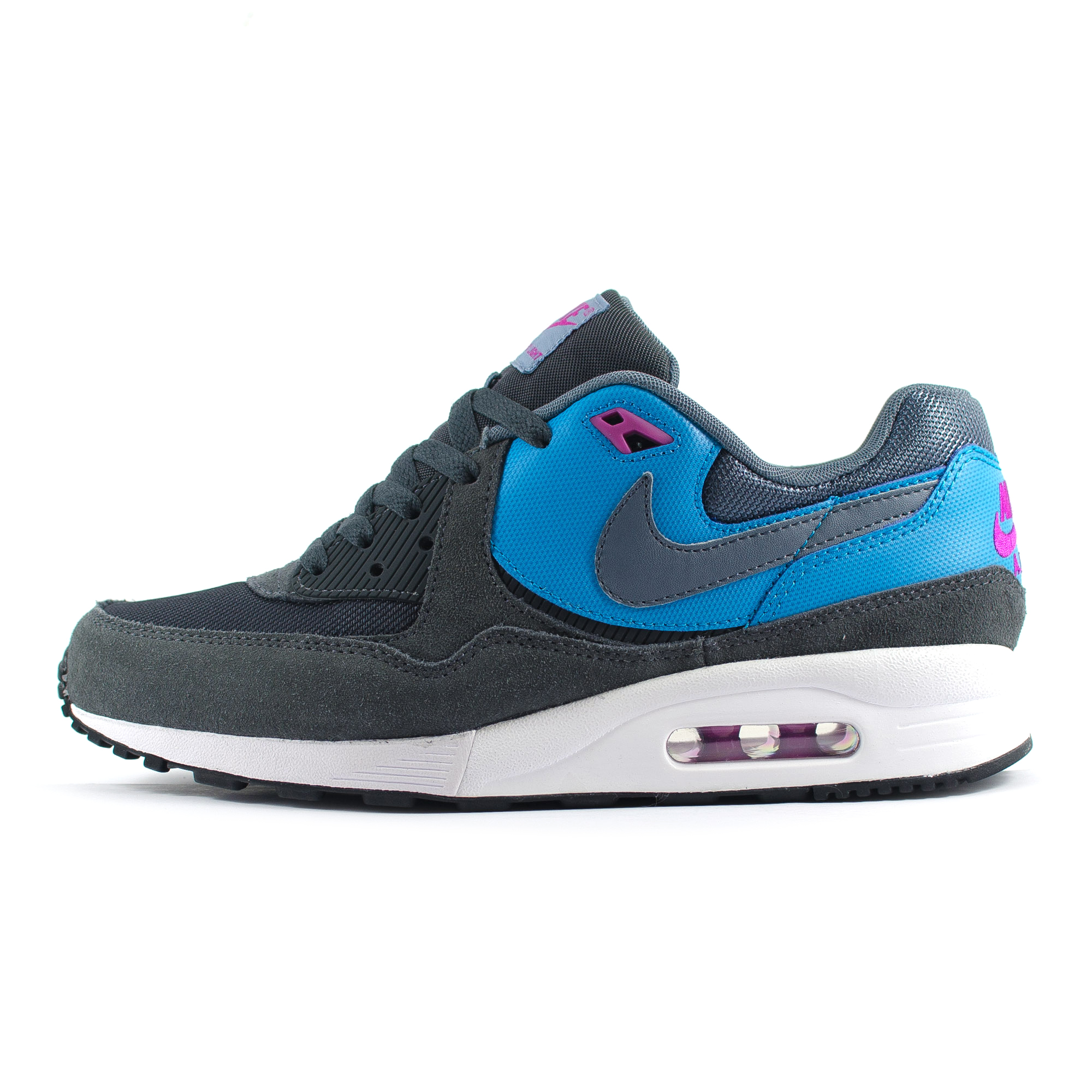 mens nike air max light essential dark grey blue black trainers 631722 014 ebay. Black Bedroom Furniture Sets. Home Design Ideas