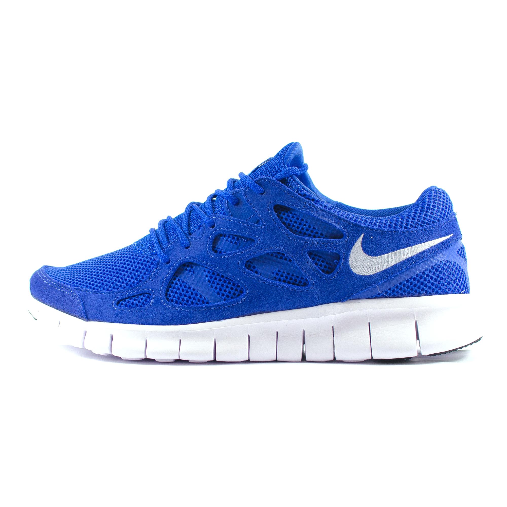 mens nike free run 2 blue white