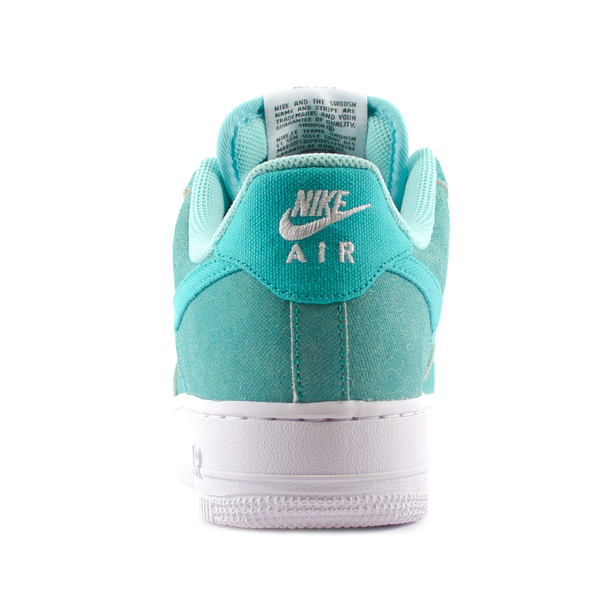 nike air force 1 verde acqua