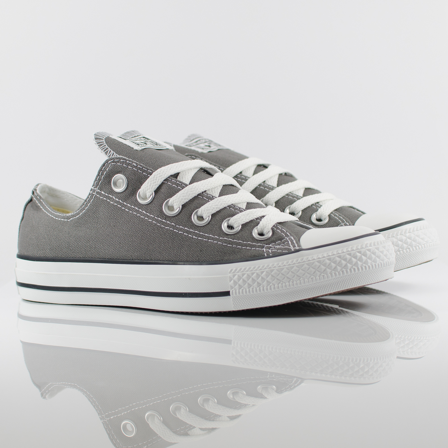 Converse All Star Ox Low Chuck Taylor Charcoal Grey Trainers