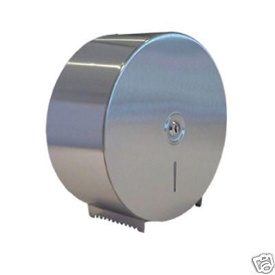 Stainless Steel Mini Jumbo Toilet Roll Dispenser Ebay