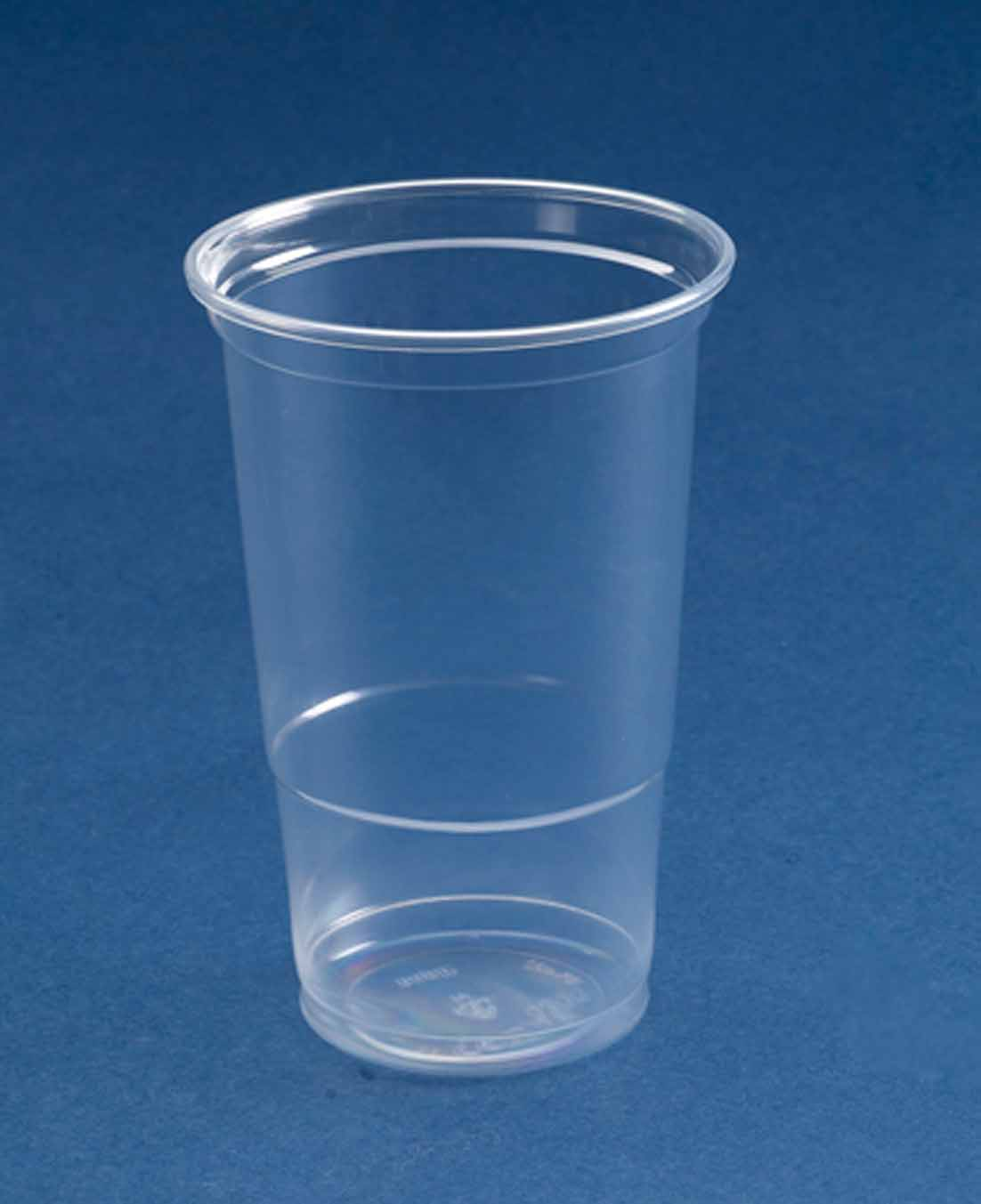 50 x ce stamped plastic pint glasses strong flexi ebay for How strong is acrylic glass