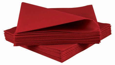 50 Luxury Burgundy Airlaid Napkins Quality Linen Feel